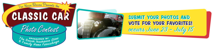The News-Review and Senior Insurance  Store Classic Car Photo Contest