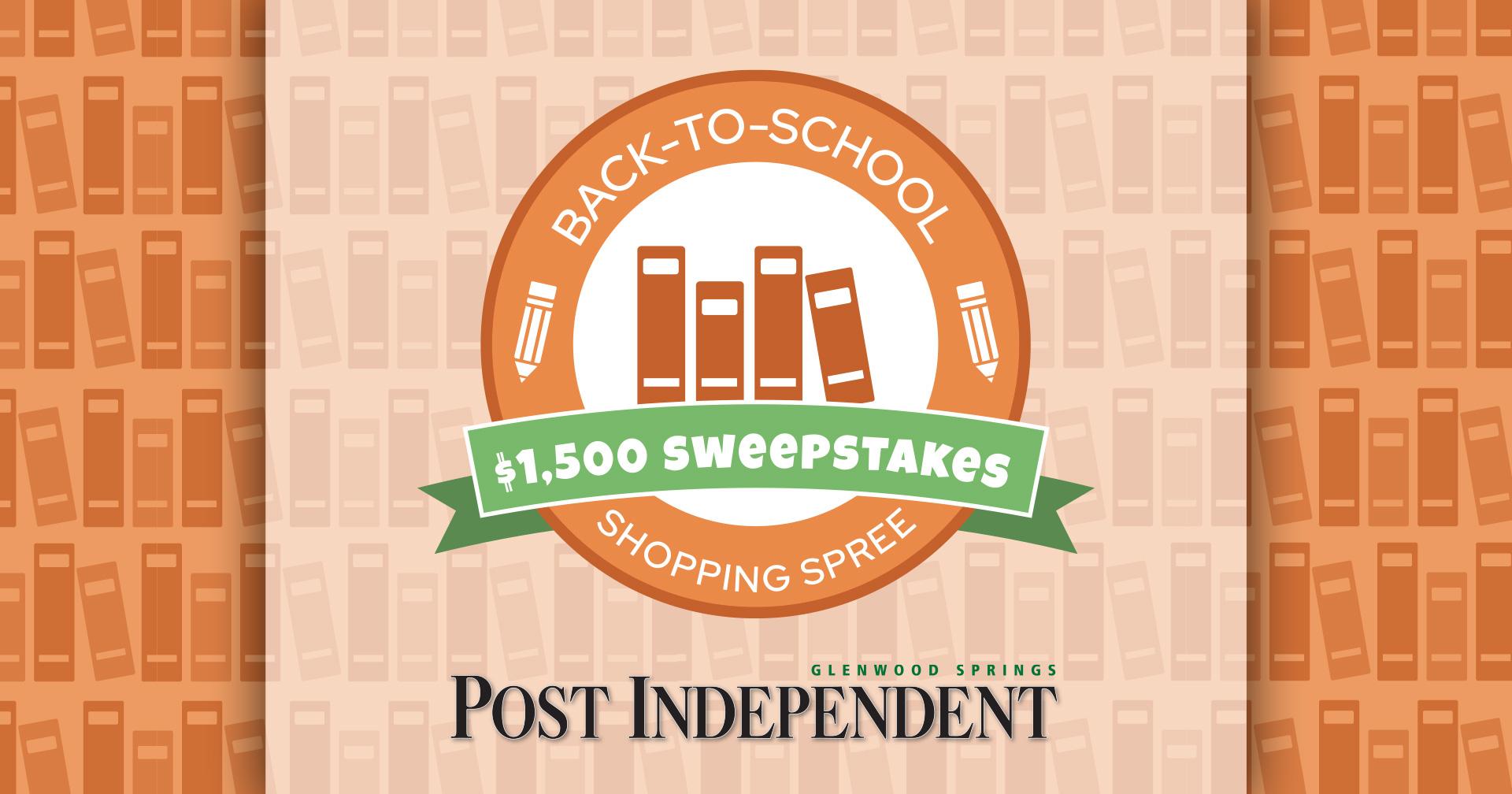 $1,500 Sweepstakes (Jul-Aug)