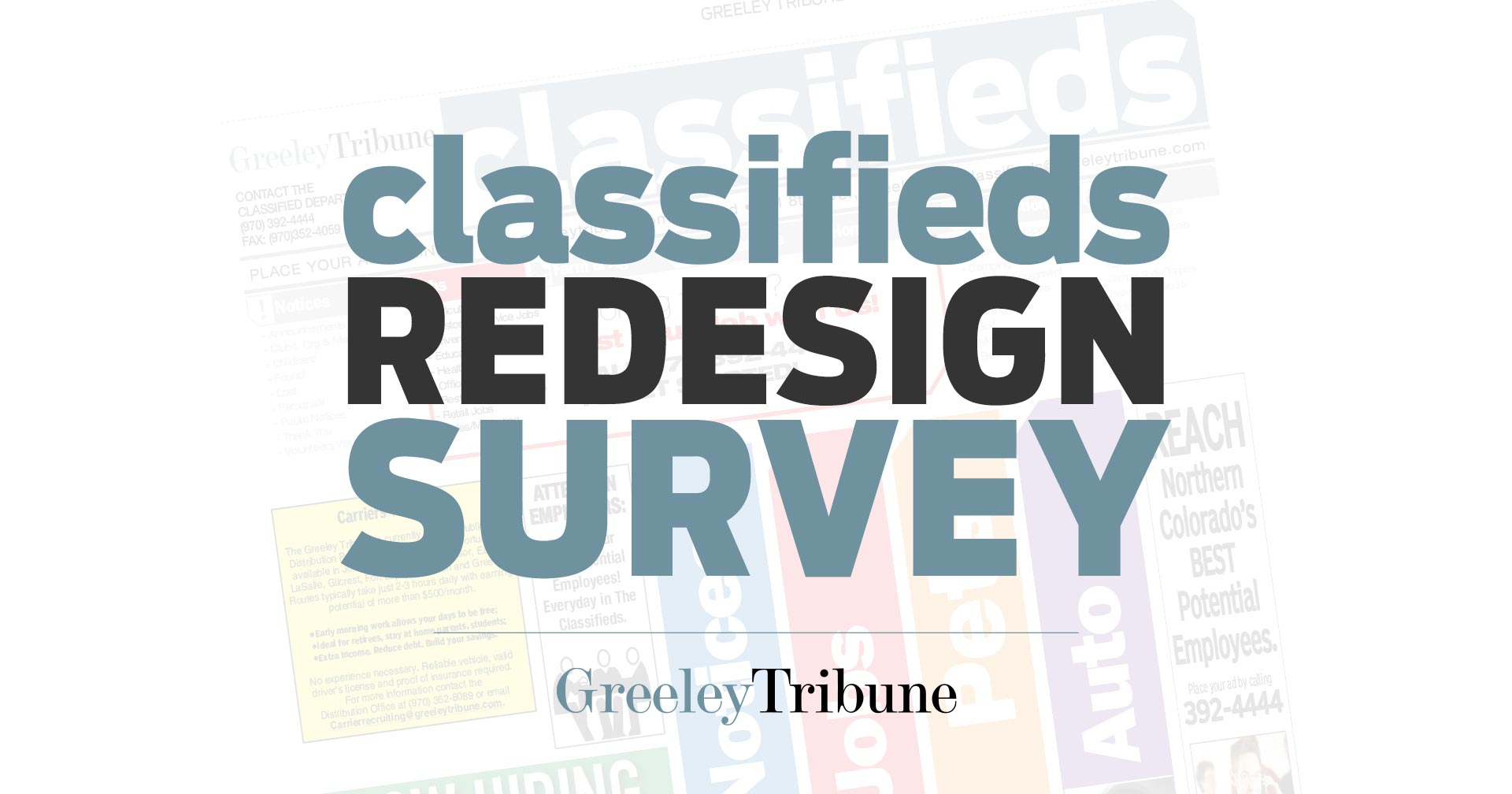 Classifieds Redesign 2019